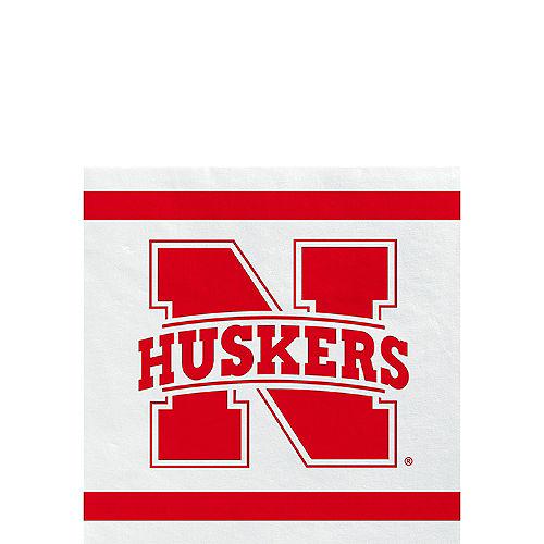 Nebraska Cornhuskers Beverage Napkins 24ct Image #1