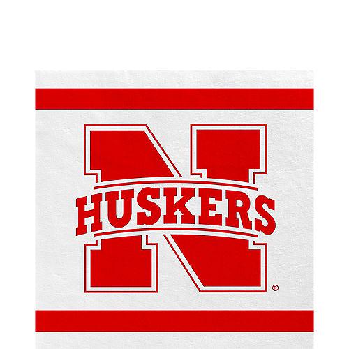 Nebraska Cornhuskers Lunch Napkins 20ct Image #1