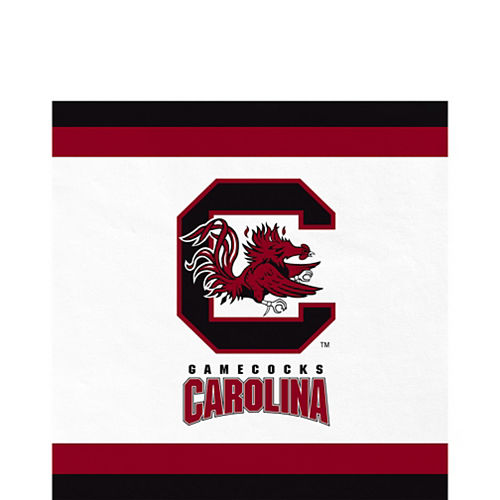 South Carolina Gamecocks Lunch Napkins 20ct Image #1