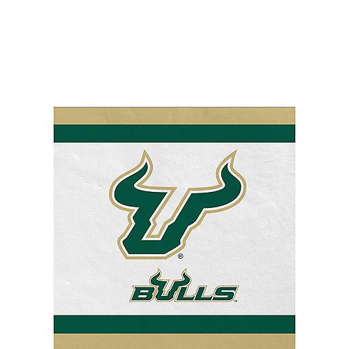 South Florida Bulls Beverage Napkins 24ct Image #1
