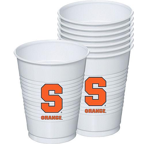 Syracuse Orange Plastic Cups 8ct Image #1