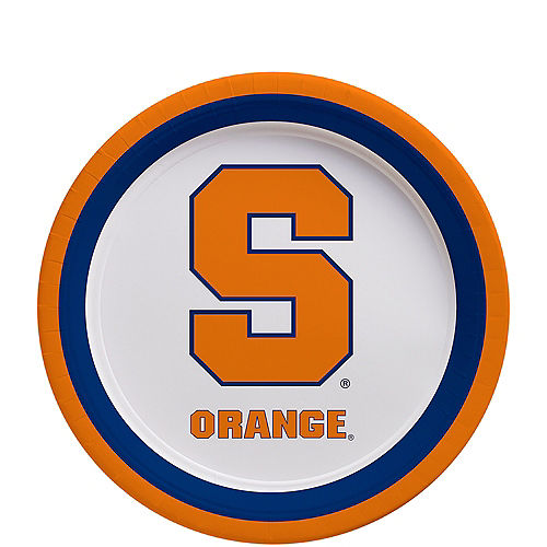 Syracuse Orange Dessert Plates 12ct Image #1