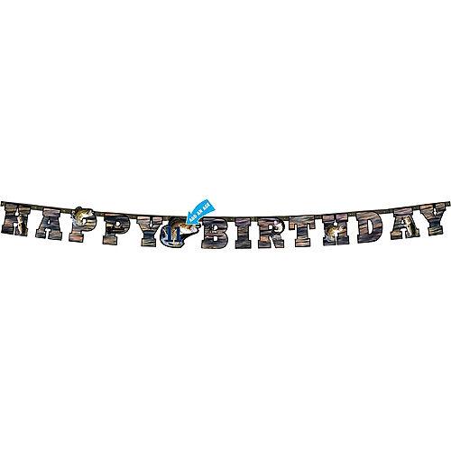 Gone Fishing Happy Birthday Letter Banner Image #1