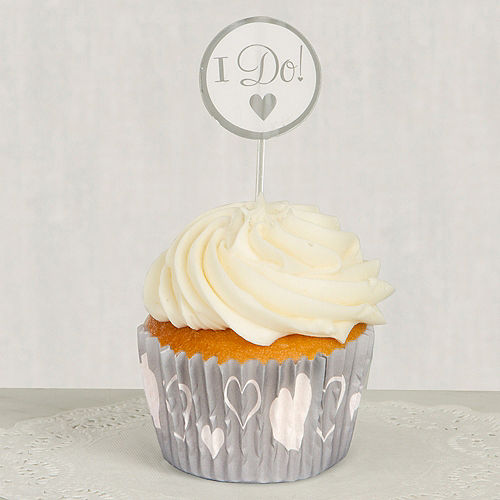 I Do Wedding Cupcake Combo Pack 24ct Image #1