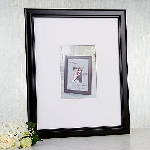 Wedding Autograph Photo Frame Image #1