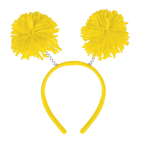 Yellow Pom-Pom Head Bopper Image #1