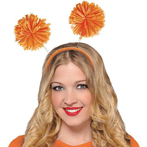 Orange Pom-Pom Head Bopper Image #2