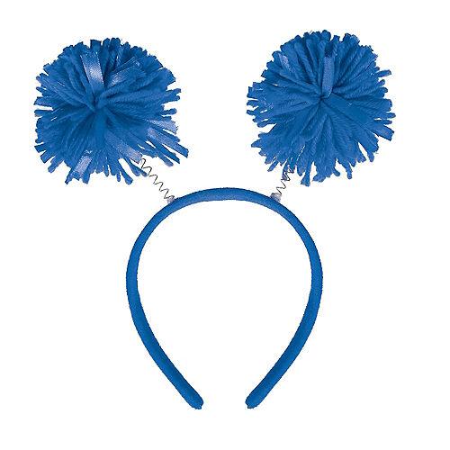 Blue Pom-Pom Head Bopper Image #1