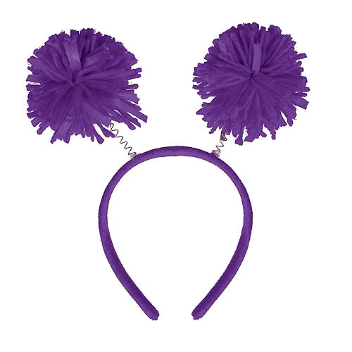 Purple Pom-Pom Head Bopper Image #1