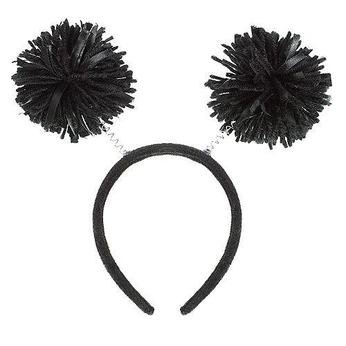 Black Pom-Pom Head Bopper Image #1