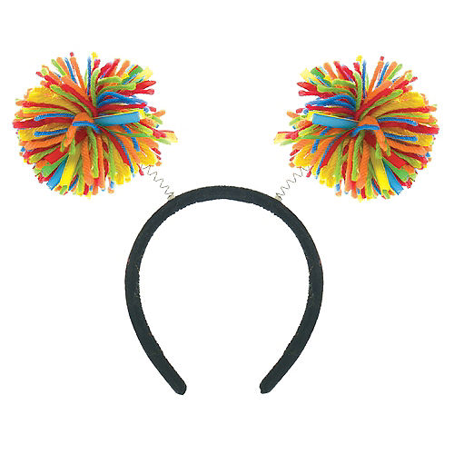 Rainbow Pom-Pom Head Bopper Image #1