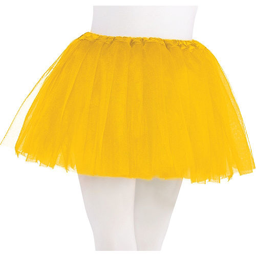 Child Yellow Tutu Image #1