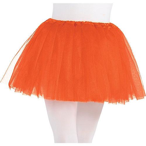 Child Orange Tutu Image #1