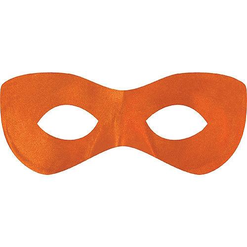 Orange Domino Mask Image #1