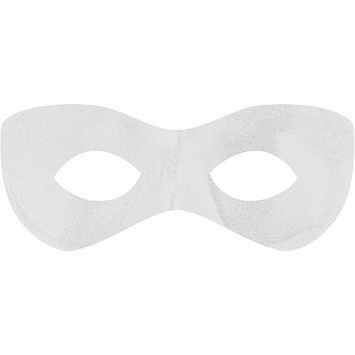 White Domino Mask Image #1
