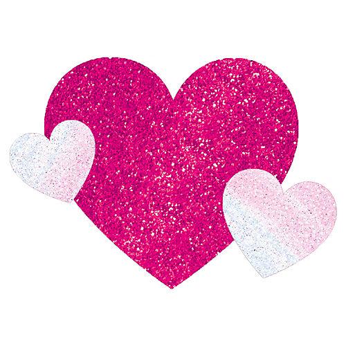 Pink Heart Body Jewelry Image #1