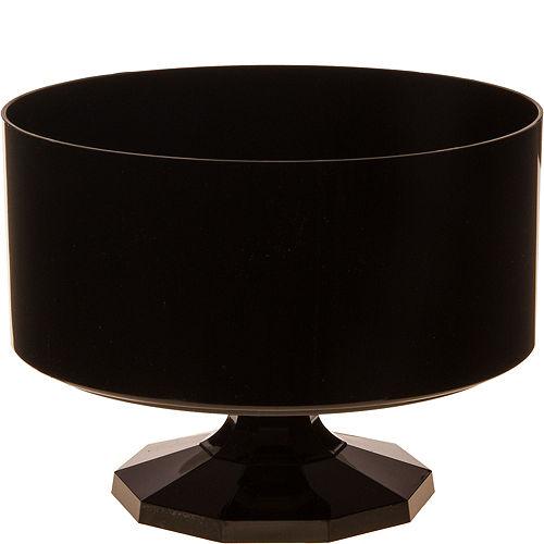 Black Plastic Trifle Container Image #1