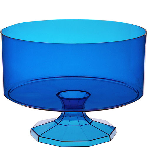 Royal Blue Plastic Trifle Container Image #1