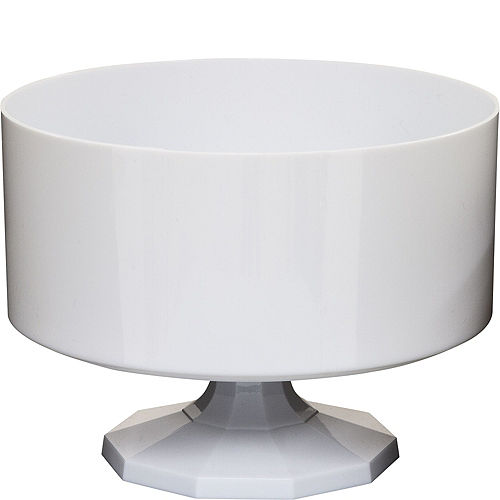 White Plastic Trifle Container Image #1