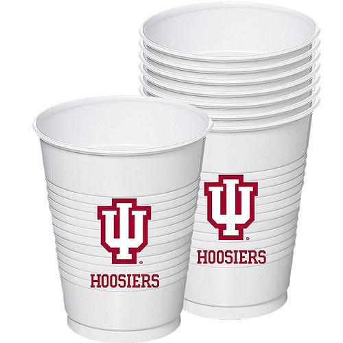 Indiana Hoosiers Plastic Cups 8ct Image #1