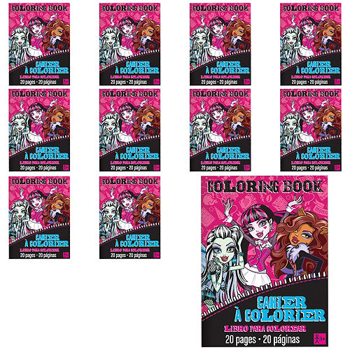 Monster High Coloring Books 48ct Image #1