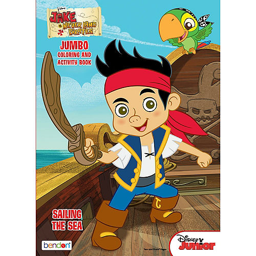 Jake and the Never Land Pirates Coloring & Activity Book Image #1