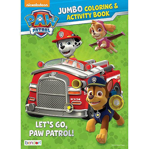 PAW Patrol Coloring & Activity Book Image #1