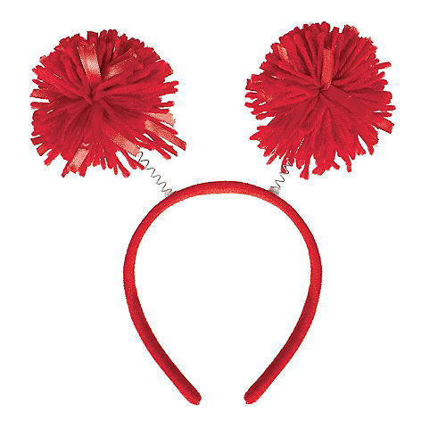 Red Pom-Pom Head Bopper Image #1