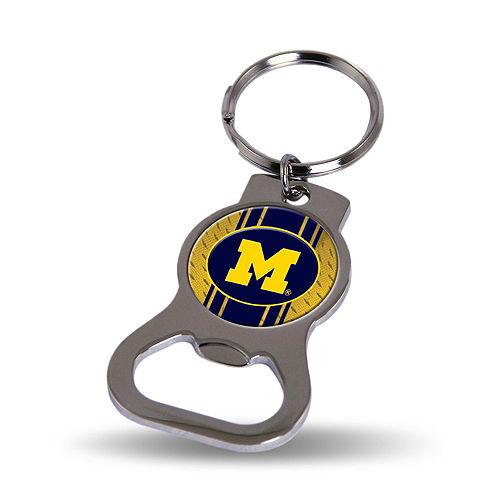 Michigan Wolverines Bottle Opener Keychain Image #1