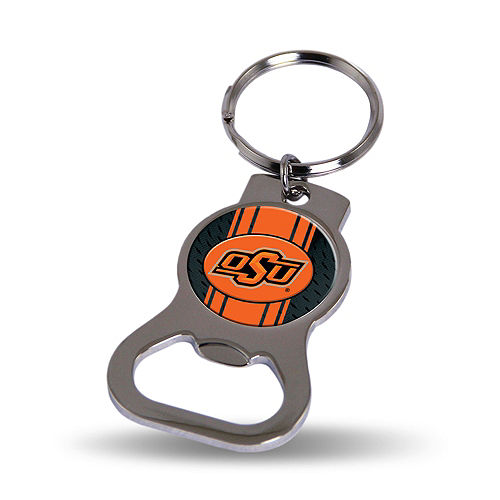 Oklahoma State Cowboys Bottle Opener Keychain Image #1