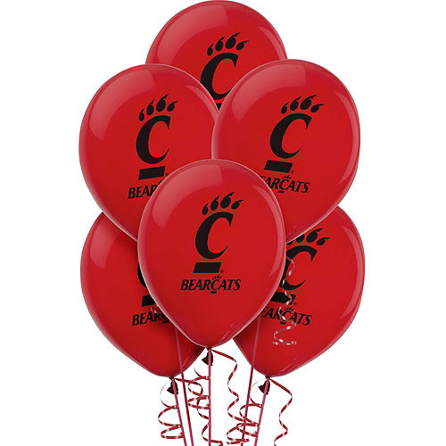 Cincinnati Bearcats Balloons 10ct Image #1