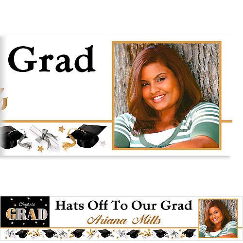 Custom Festive Grad Photo Banner 6ft  Image #1