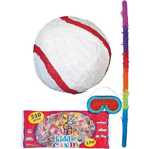 Basic Baseball Pinata Kit Image #1