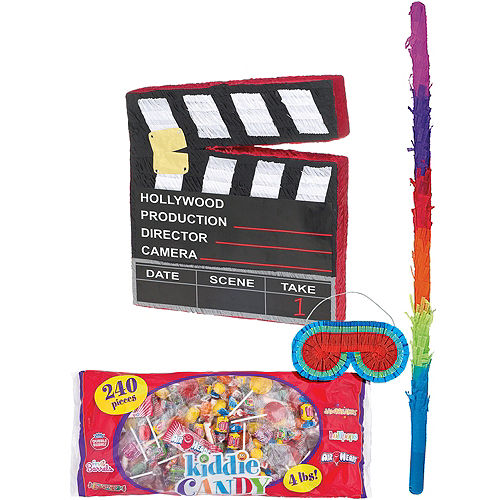 Movie Scene Marker Pinata Kit Image #1