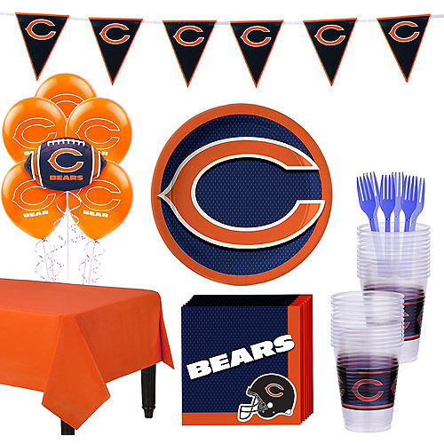 Super Chicago Bears Party Kit for 18 Guests Image #1