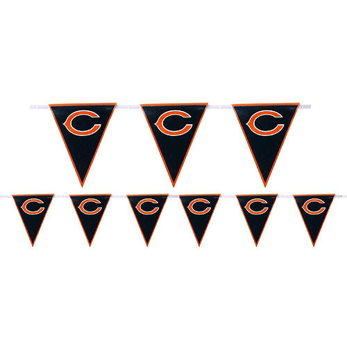 Super Chicago Bears Party Kit for 18 Guests Image #6