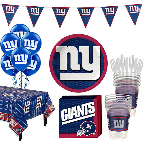Super New York Giants Party Kit for 18 Guests Image #1