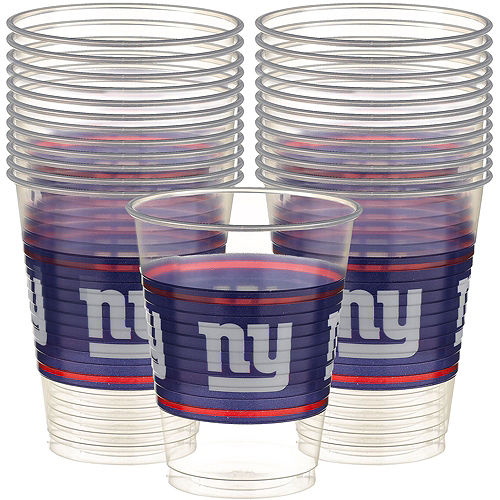 Super New York Giants Party Kit for 18 Guests Image #4
