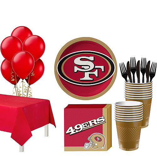 Super San Francisco 49ers Party Kit for 18 Guests Image #1