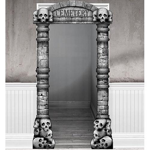 Cemetery Doorframe Decoration Deluxe Image #1