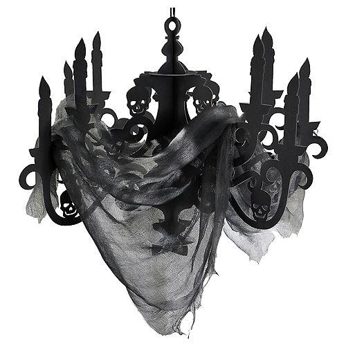 Black Paper Candelabra - Haunted House Image #1