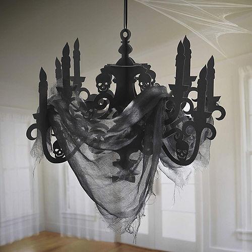 Black Paper Candelabra - Haunted House Image #2