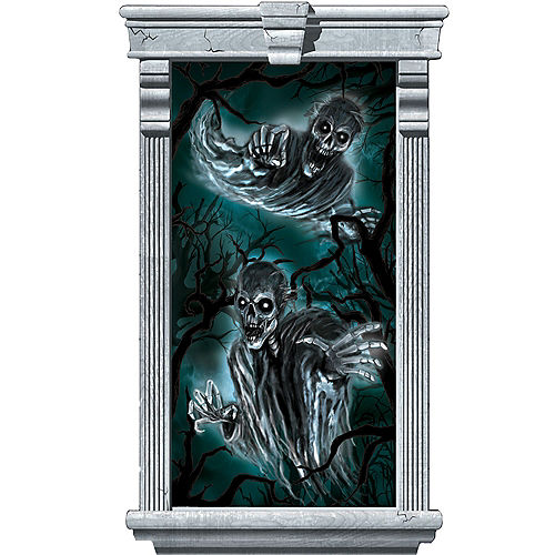 Haunted Forest Window Posters 2ct Image #2