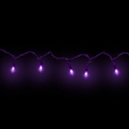 Purple LED String Lights Image #2