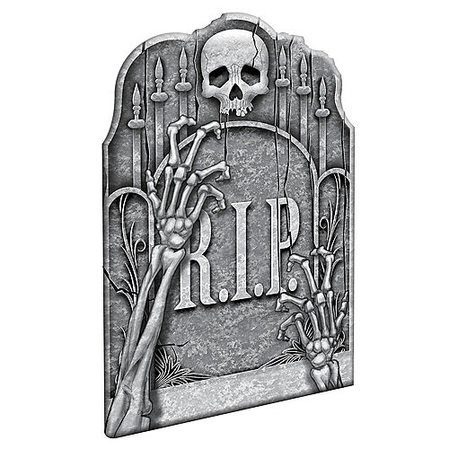 Clawing Hands Tombstone Image #1