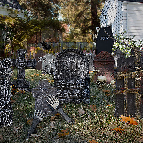 Clawing Hands Tombstone Image #2