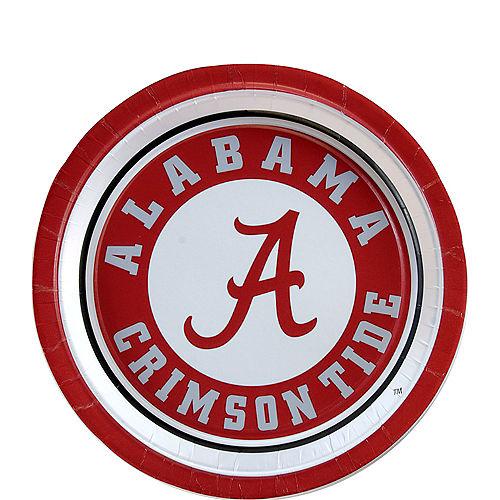 Alabama Crimson Tide Dessert Plates 12ct Image #1