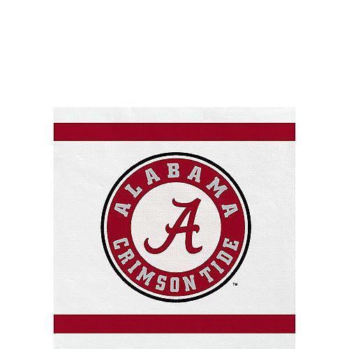 Alabama Crimson Tide Beverage Napkins 24ct Image #1