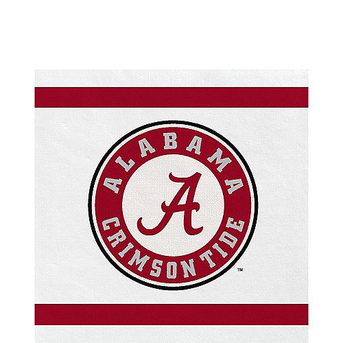Alabama Crimson Tide Lunch Napkins 20ct Image #1