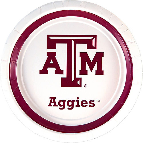 Texas A&M Aggies Lunch Plates 10ct Image #1